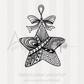 Motivstempel - Zentangle Stern