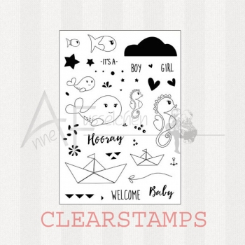 Clear Stamps - Ocean Babies