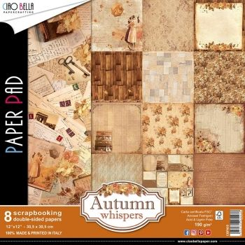 Ciao Bella - Autumn Whispers | Paper Pad 12x12