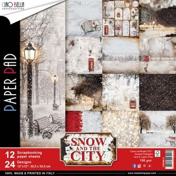 Ciao Bella - Snow and the City | Paper Pad 12x12