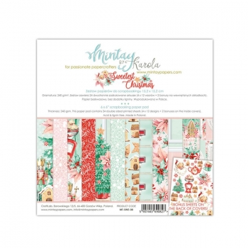 Mintay by Karola - Sweetest Christmas | Paper Pad 6x6