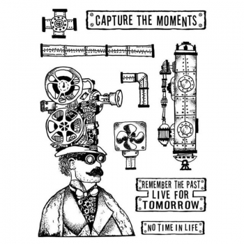Stamperia Rubberstamp - Capture The Moment