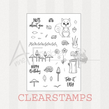 Clear Stamps - Forest Fellows