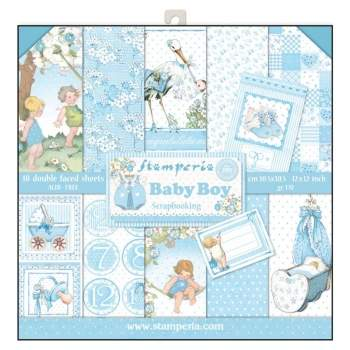 Stamperia - Baby Boy | Paper Pad 12x12