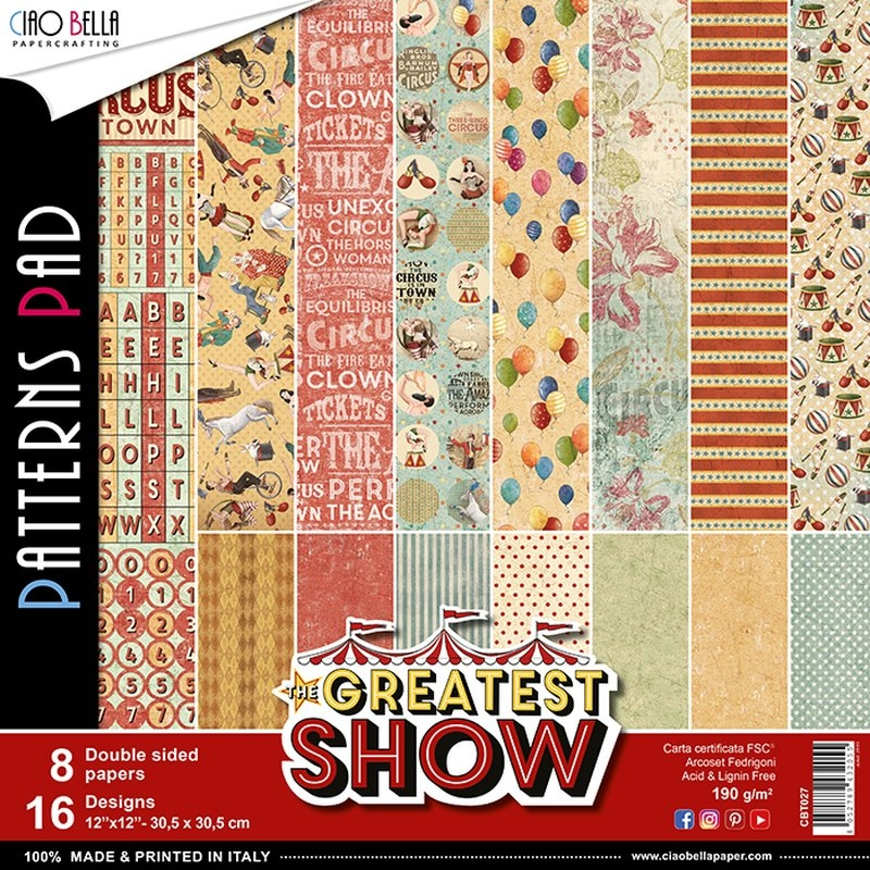 Ciao Bella - Greatest Show | Patterns 12x12