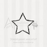 Motivstempel - Rating Star