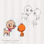 Motivstempel - Doggy & Kitty | Set 01