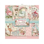 Stamperia - Pink Christmas | Paper Pad 8x8