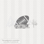 Motivstempel - American Football Label 03 (kl)