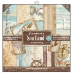 Stamperia - Sea Land | Paper Pad 12x12